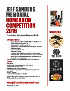 Jeff Sanders Memorial Hombrew Competion Final